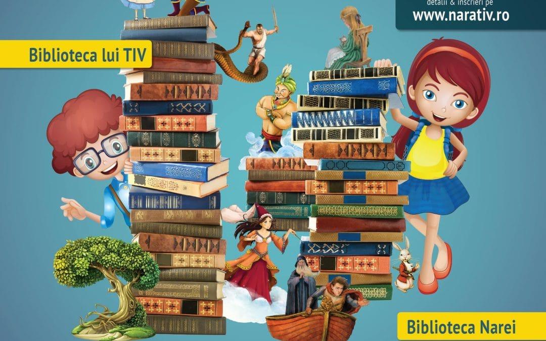 Încep înscrierile la NARATIV – festivalul pentru copii care promovează cititul de plăcere!