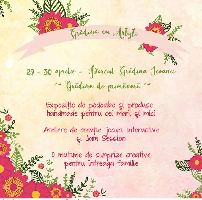 Grădina cu Artiști – Grădina de primăvară