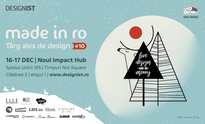 Made in RO – Târg ales de design, ediția #10