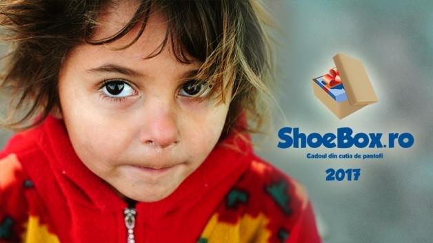 Ediţiaaniversarăcunumărul10 a proiectului #ShoeBox2017 – Cadouldincutia de pantofi