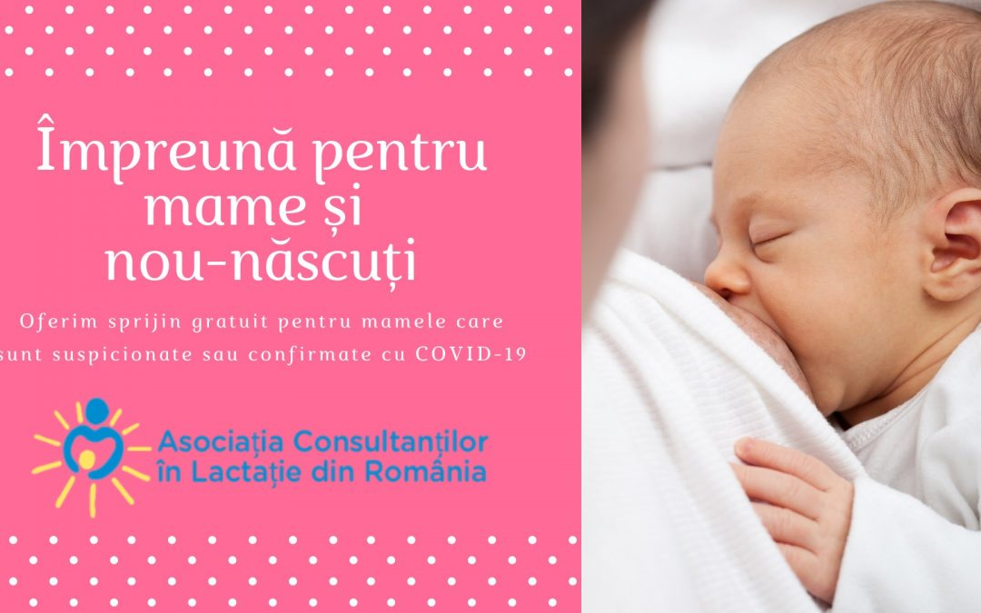 Asociația Consultanților în Lactație din România – Scrisoare deschisă către Ministerul Sănătăţii – România