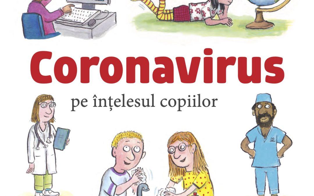 Carte gratuită: Coronavirus pe înțelesul copiilor