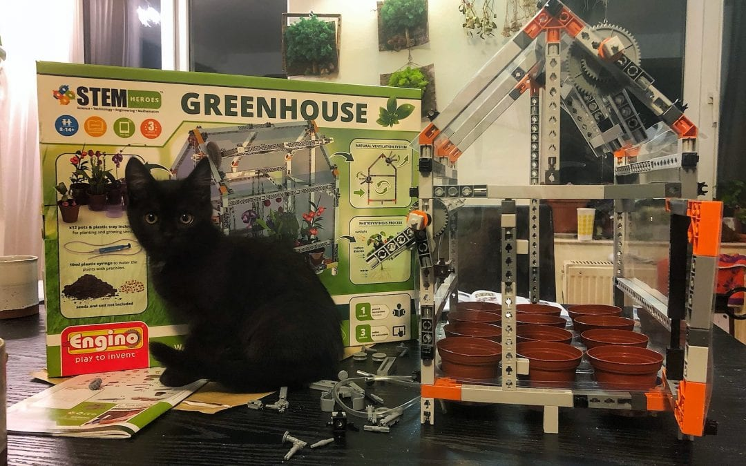 Engino Toys Greenhouse