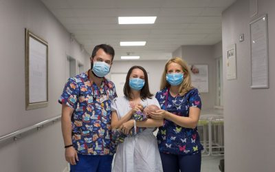 Bebelus prematur, salvat cu ajutorul unei terapii inovatoare cu celule stem